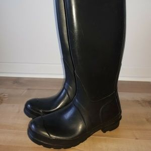 Hunter Women's Original Tall Black Rain Boots US 6